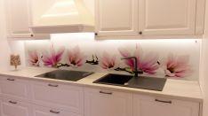 Virtuvių stiklų dekoravimas