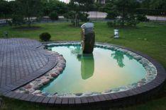 Dekoratyviniai kriokliai - dekoratyvinių krioklių įrengimas