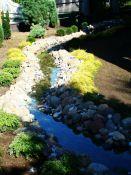 Dekoratyviniai upeliai - dekoratyvinių upelių įrengimas