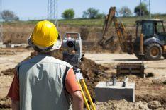 Geodeziniai darbai statybų aikštelėse.