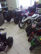 Prekyba keturračiais, motoroleriais, motociklais bei jų detalėmis