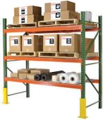 Stelažų priedai - apsaugos, skersiniai, lentynos. Tel. +370 600 37717