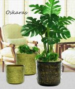 Keraminis gėlių vazonas OSKARAS
