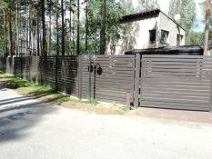Metalinių profilių (polisadinės) tvoros