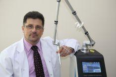 Gerybinių ir ikivėžinių odos darinių šalinimas chirurginiu CO2 lazeriu