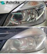 Automobilio žibintų poliravimas