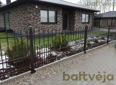 Metalinių profilių tvoros