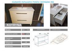 Vonios spintelė Kotryna