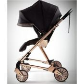 Mamas & Papas Urbo 2 sportinukas, Black/Rose Gold