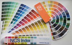 NCS ir RAL spalvų paletės