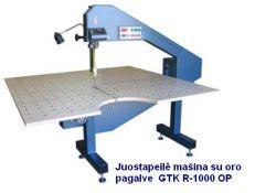 Juostapeilė mašina tekstilės medžiagoms pjauti GTK DC