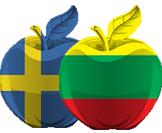 Vertimas žodžiu: lietuvių - švedų kalbų kombinacija