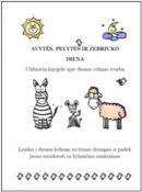 """Užduočių knygelė """"Avytės, pelytės ir zebriuko diena"""""""
