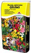 Durpių substratas gėlėms