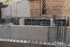 Laikančių ir apdailinių konstrukcijų mūrinimas