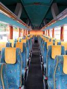 Baltojo MAN autobuso vidus