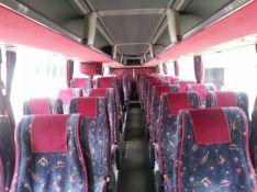 Rožinio NEOPLAN autobuso vidus