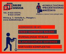 Mes dirbame Jums !!!