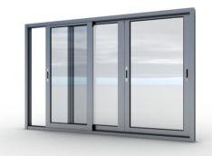 Aliuminio konstrukcijos balkonui