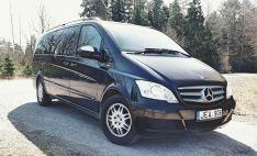 Lengvojo automobilio Mercedes Benz Viano nuoma: