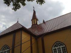 Bažnyčių dažymas, restauravimas, paveldo darbai