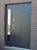Šarvuotos lauko durys Klaipėdoje