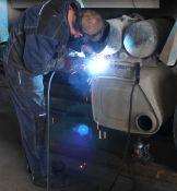 Aliuminio bakų, detalių ir konstrukcijų iš aliuminio virinimas