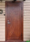 Lauko durys Okoume