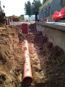 Lauko vandentiekio ir nuotekų tinklų montavimas (mūsų arba kliento medžiagomis)
