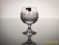 Krištolinė taurė brendžiui
