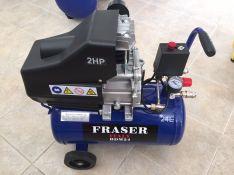 Tepalinis oro kompresorius FRASER 1cilindras / 24L