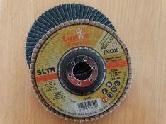 Žiedlapinis metalo šlifavimo diskas SLTR d125