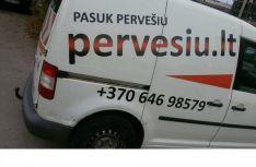 Krovinių pervežimas, perkraustymo paslaugos.
