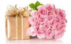 Gėlių dovanų pristatymas.
