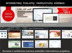 Internetinių tinklalapių ir programų kūrimas