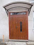 Lauko durys.