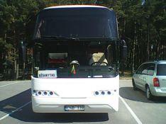 Autobusų nuoma su vairuotoju, keleivių pervežimas.