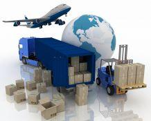 Tarptautiniai pervežimai: lėktuvu, laivu, krovininiu automobiliu, geležinkeliu.