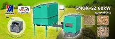 Biomasės deginimo kompleksas SMOK AZSB-GZ 60 kW (ketaus)
