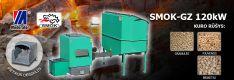 Biomasės deginimo kompleksas SMOK AZSB-GZ 120 kW (ketaus)