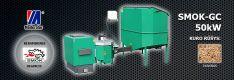 Biomasės deginimo kompleksas SMOK AZSB-GC 50 kW (keramikinis)