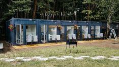 Gyvenamosios paskirties moduliniai pastatai