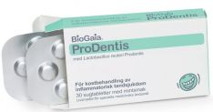 Probiotikai burnai BioGaia ProDentis