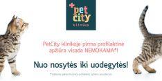 Pirma profilaktinė apžiūra PetCity klinikoje visada nemokama!