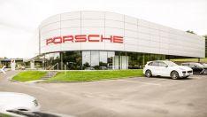 """""""Porsche"""" autocentras, Vilnius"""