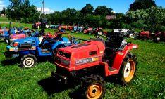 Naudoti MINI traktoriukai