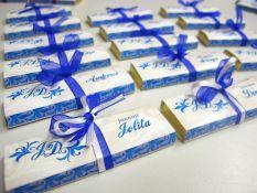 Šokoladukai - svečio / stalo kortelės