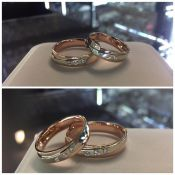 Vestuvinių žiedų gamyba