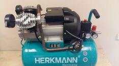 Tepalinis oro kompresorius HERKMANN 2cilindrai / 50L