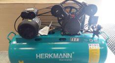 Tepalinis oro kompresorius HERKMANN 2cilindrai / 100L